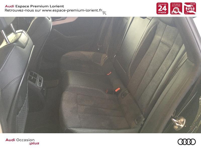 Audi A5 Sportback 40 TFSI 190ch S line S tronic 7 Euro6d-T 132g Noir occasion à Lanester - photo n°8