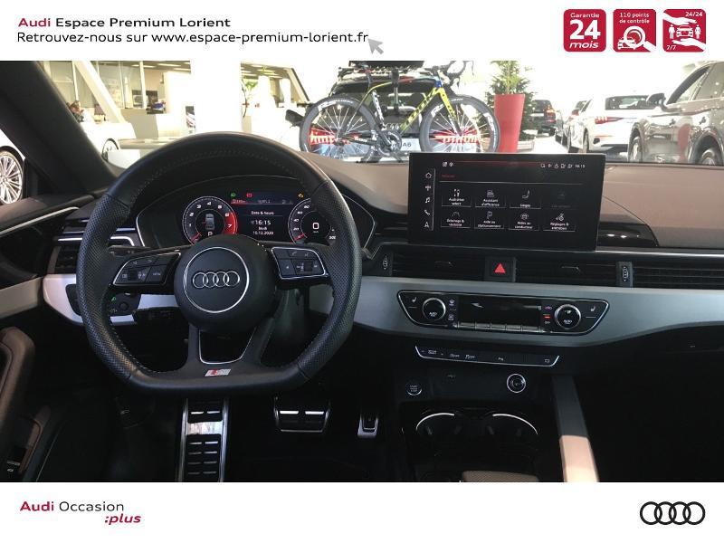 Audi A5 Sportback 40 TFSI 190ch S line S tronic 7 Euro6d-T 132g Noir occasion à Lanester - photo n°6