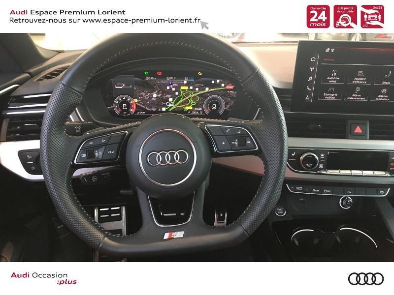 Audi A5 Sportback 40 TFSI 190ch S line S tronic 7 Euro6d-T 132g Noir occasion à Lanester - photo n°14