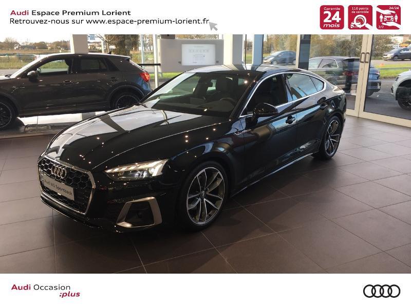 Audi A5 Sportback 40 TFSI 190ch S line S tronic 7 Euro6d-T 132g Noir occasion à Lanester