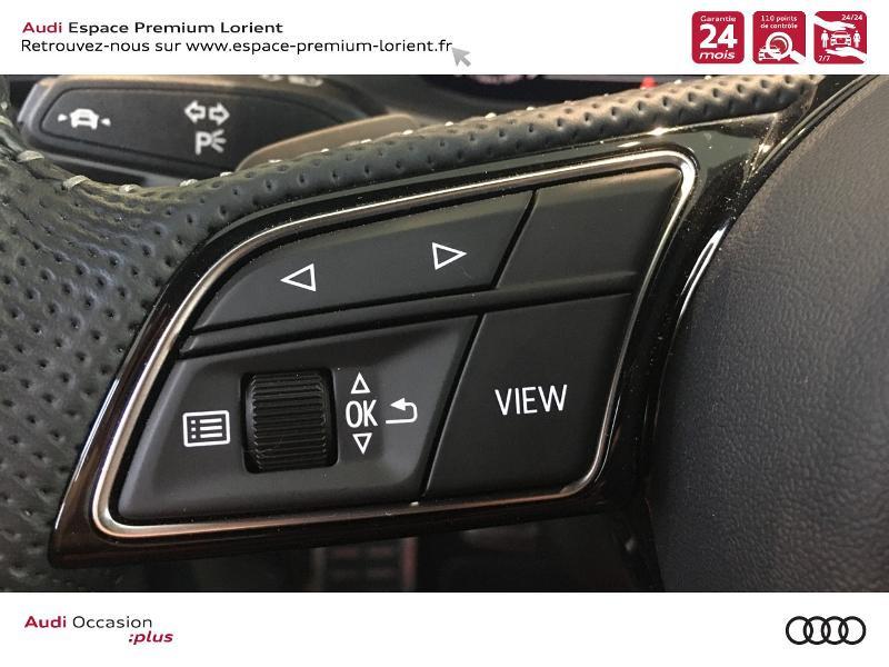 Audi A5 Sportback 40 TFSI 190ch S line S tronic 7 Euro6d-T 132g Noir occasion à Lanester - photo n°15