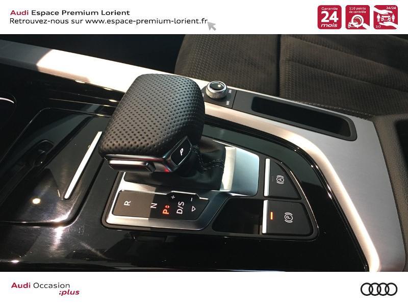 Audi A5 Sportback 40 TFSI 190ch S line S tronic 7 Euro6d-T 132g Noir occasion à Lanester - photo n°17