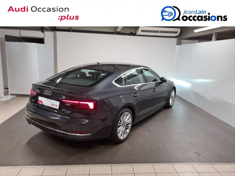 Audi A5 Sportback A5 Sportback 2.0 TDI 190 S tronic 7 Quattro Design Luxe 5p  occasion à Échirolles - photo n°5
