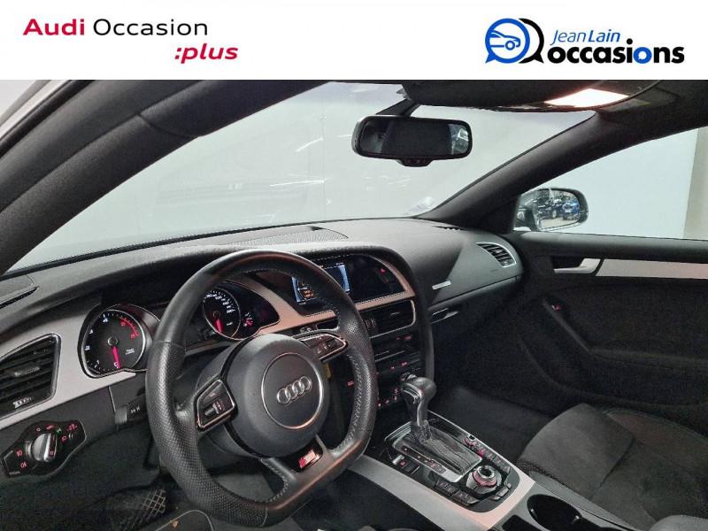 Audi A5 Sportback A5 Sportback 2.0 TDI 190 S tronic 7 Quattro S Line 5p Gris occasion à La Motte-Servolex - photo n°11