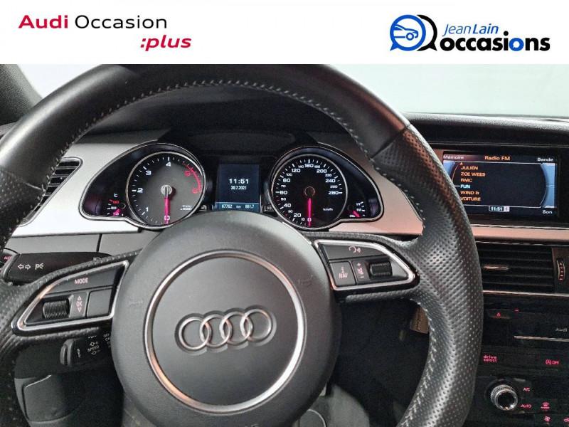Audi A5 Sportback A5 Sportback 2.0 TDI 190 S tronic 7 Quattro S Line 5p Gris occasion à La Motte-Servolex - photo n°12
