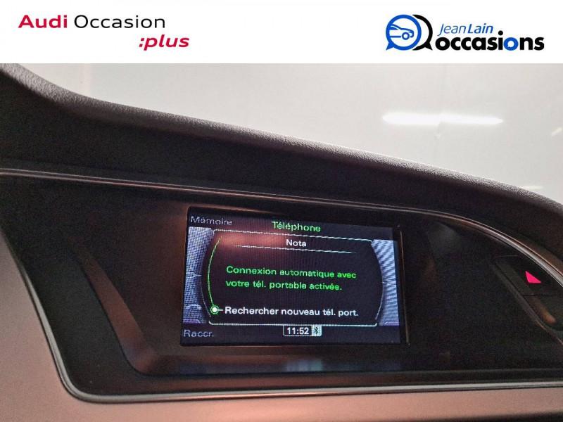 Audi A5 Sportback A5 Sportback 2.0 TDI 190 S tronic 7 Quattro S Line 5p Gris occasion à La Motte-Servolex - photo n°16