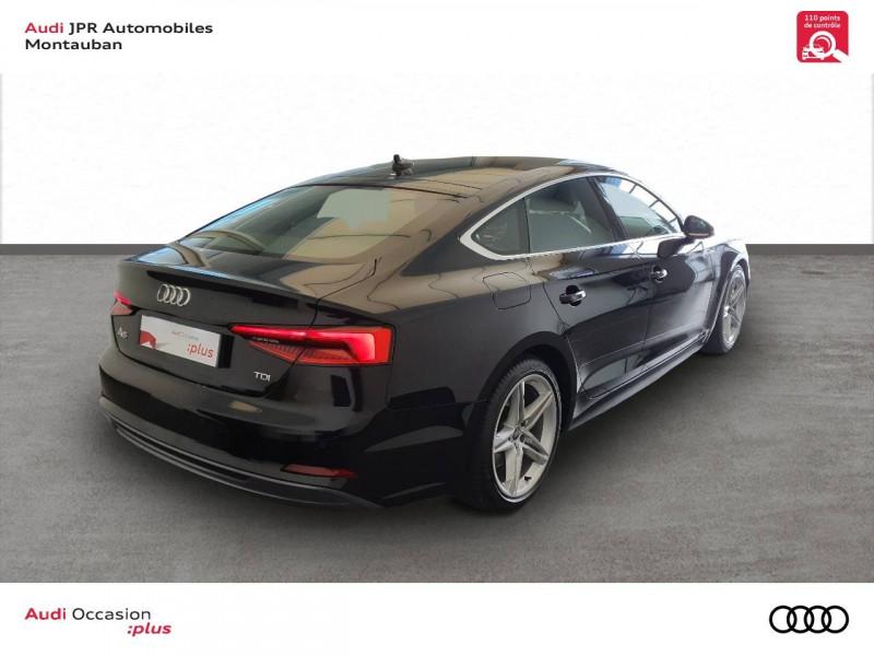 Audi A5 Sportback A5 Sportback 2.0 TDI 190 S tronic 7 S Line 5p  occasion à montauban - photo n°3
