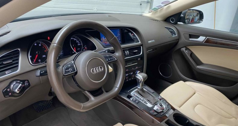 Audi A5 Sportback Phase 2 1.8 TFSI Multitronic 170 cv S-Line Gris occasion à Lagord - photo n°7
