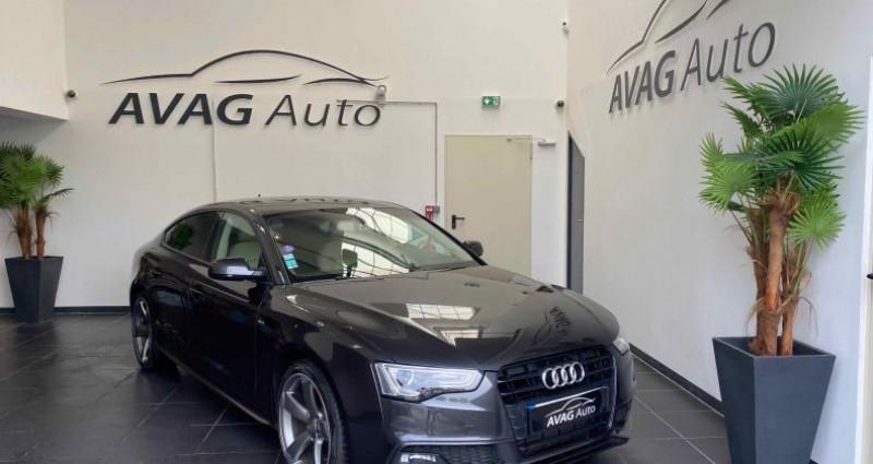 Audi A5 Sportback Phase 2 1.8 TFSI Multitronic 170 cv S-Line Gris occasion à Lagord