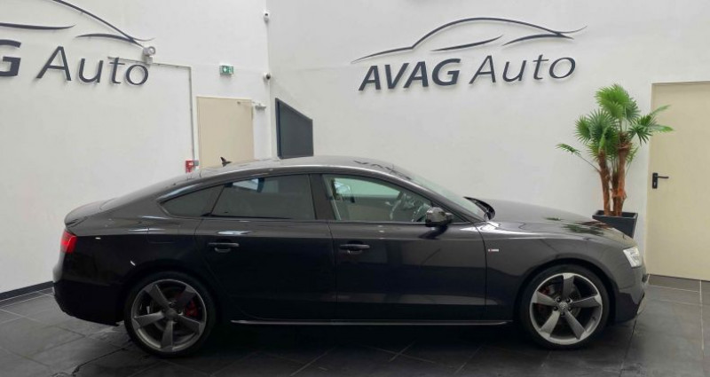 Audi A5 Sportback Phase 2 1.8 TFSI Multitronic 170 cv S-Line Gris occasion à Lagord - photo n°4