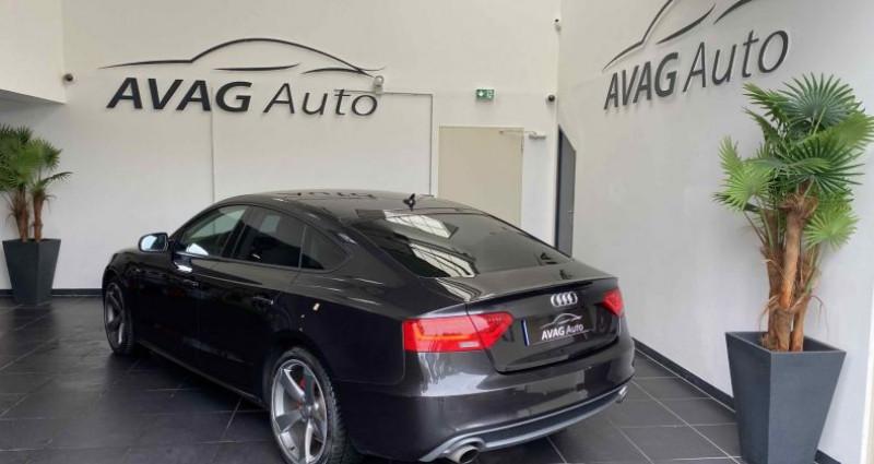 Audi A5 Sportback Phase 2 1.8 TFSI Multitronic 170 cv S-Line Gris occasion à Lagord - photo n°5