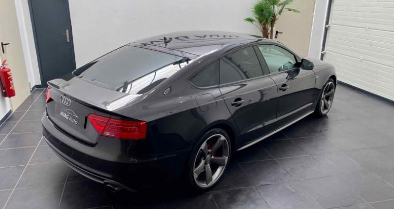 Audi A5 Sportback Phase 2 1.8 TFSI Multitronic 170 cv S-Line Gris occasion à Lagord - photo n°6