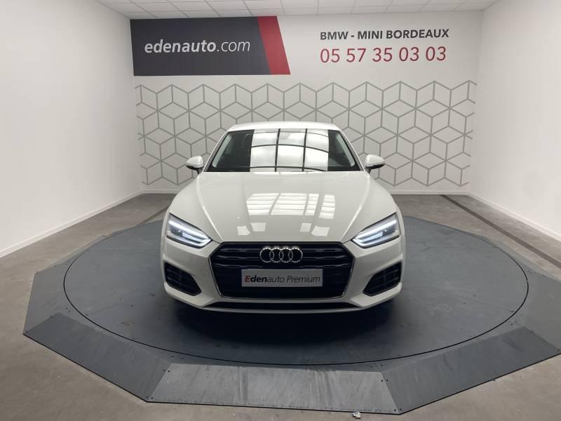 Audi A5 2.0 TDI 150 Blanc occasion à Lormont - photo n°18