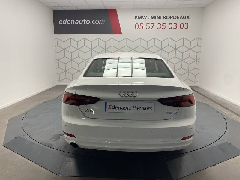 Audi A5 2.0 TDI 150 Blanc occasion à Lormont - photo n°13