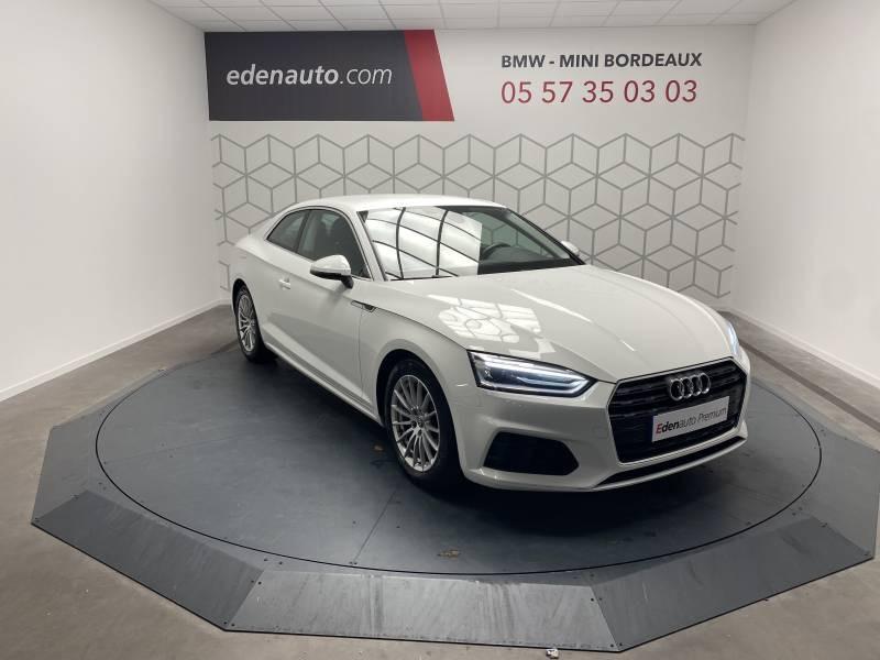 Audi A5 2.0 TDI 150 Blanc occasion à Lormont - photo n°19