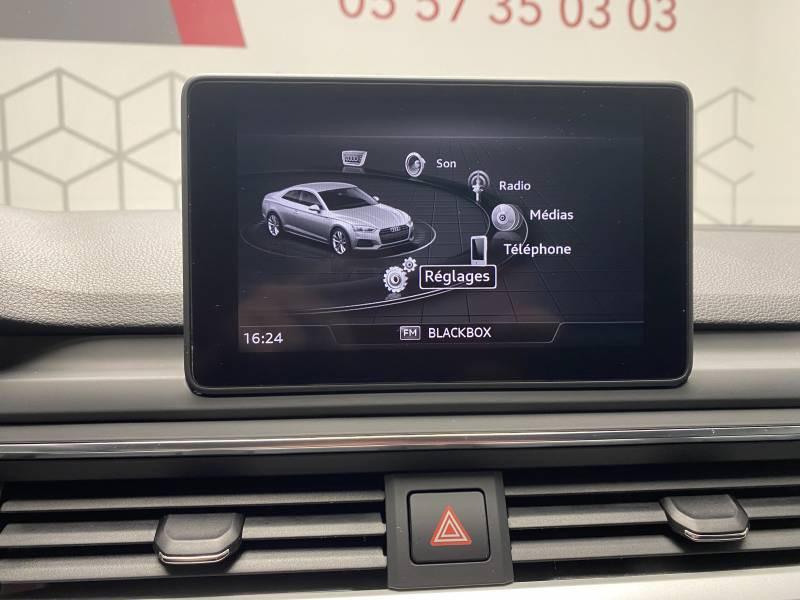 Audi A5 2.0 TDI 150 Blanc occasion à Lormont - photo n°2
