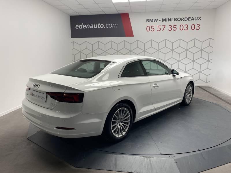 Audi A5 2.0 TDI 150 Blanc occasion à Lormont - photo n°14