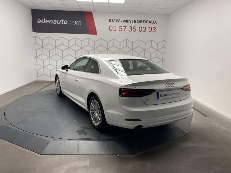 Audi A5 2.0 TDI 150 Blanc occasion à Lormont - photo n°16