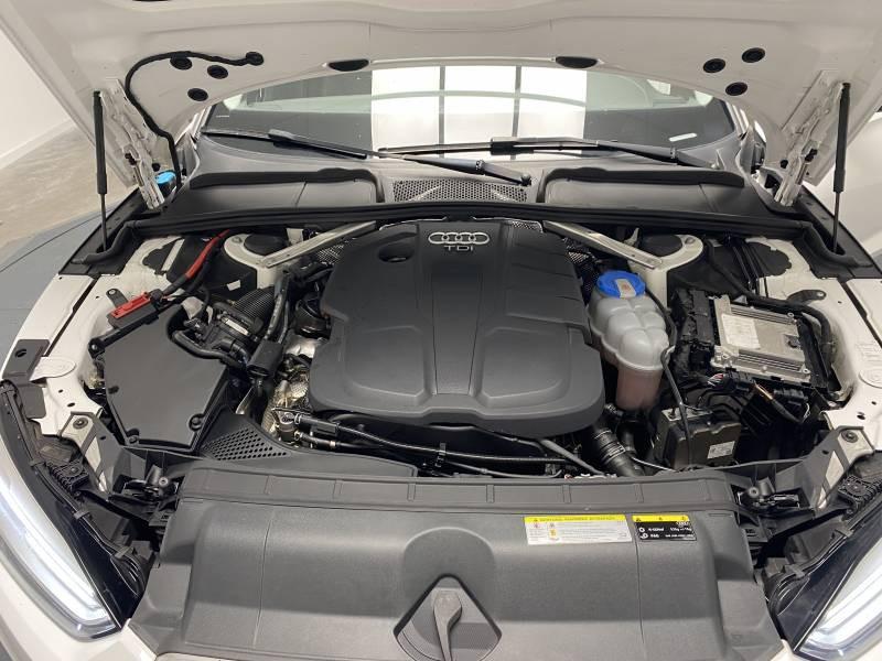Audi A5 2.0 TDI 150 Blanc occasion à Lormont - photo n°10