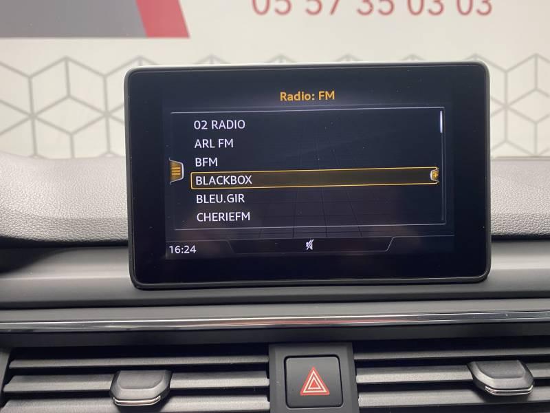 Audi A5 2.0 TDI 150 Blanc occasion à Lormont - photo n°3