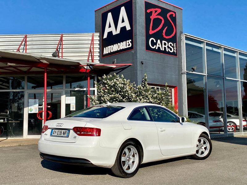 Audi A5 2.0 TDI 170ch DPF Ambiente quattro Blanc occasion à Castelmaurou - photo n°2