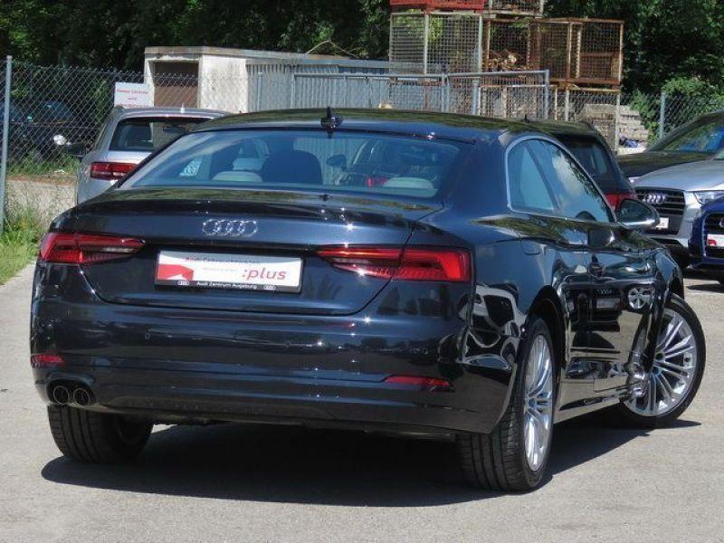 Audi A5 2.0 TDI 190 ch Bleu occasion à Beaupuy - photo n°3