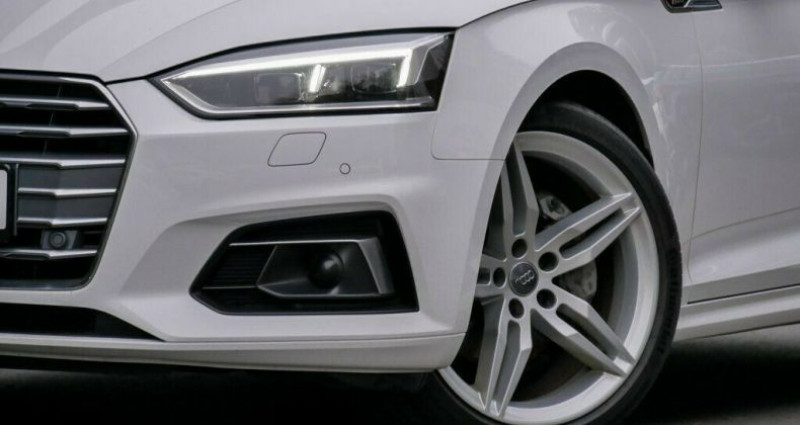 Audi A5 2.0 TDI 190ch clean diesel Ambiente Euro6 Blanc occasion à Boulogne-Billancourt - photo n°4