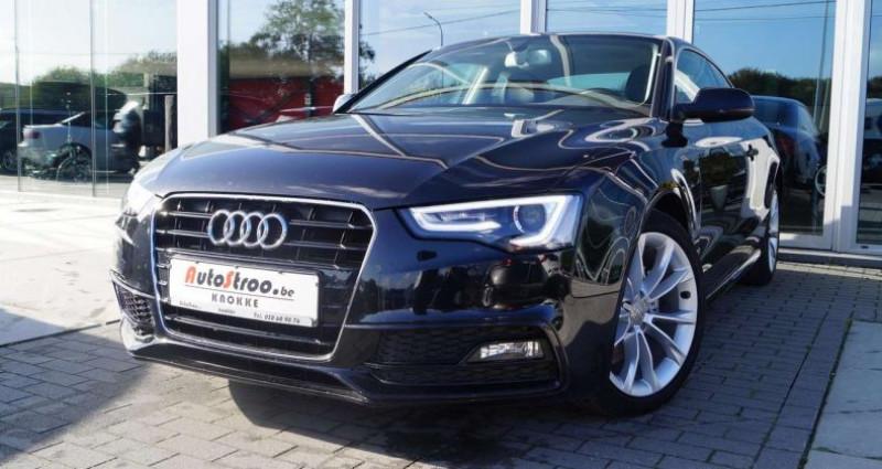 Audi A5 2.0 TDi aut. Coupe S-LINE GPS XENON LEDER Noir occasion à Moerkerke