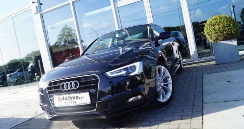 Audi A5 2.0 TDi aut. Coupe S-LINE GPS XENON LEDER Noir occasion à Moerkerke - photo n°2