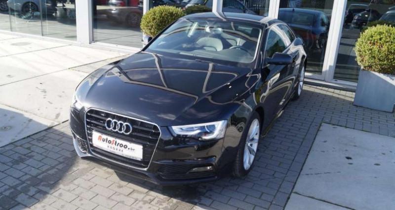 Audi A5 2.0 TDi aut. Coupe S-LINE GPS XENON LEDER Noir occasion à Moerkerke - photo n°5