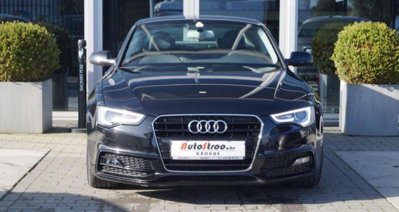 Audi A5 2.0 TDi aut. Coupe S-LINE GPS XENON LEDER Noir occasion à Moerkerke - photo n°6