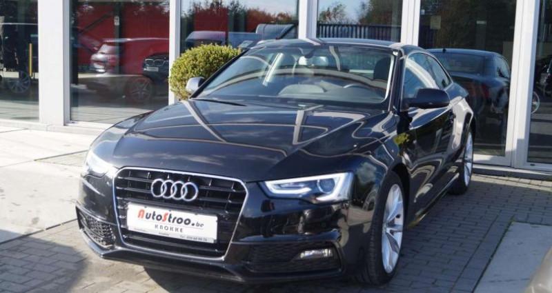 Audi A5 2.0 TDi aut. Coupe S-LINE GPS XENON LEDER Noir occasion à Moerkerke - photo n°7
