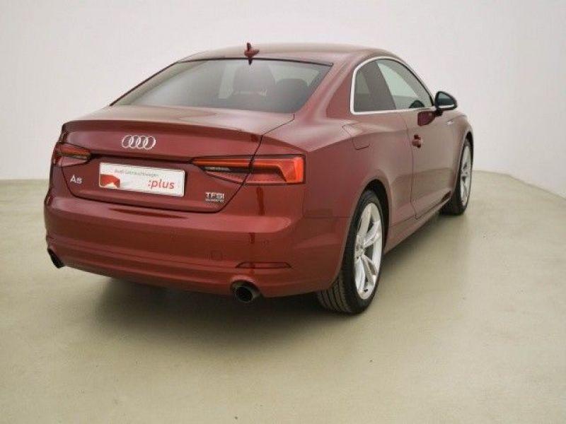 Audi A5 2.0 TFSI Quattro 252 Rouge occasion à Beaupuy - photo n°3