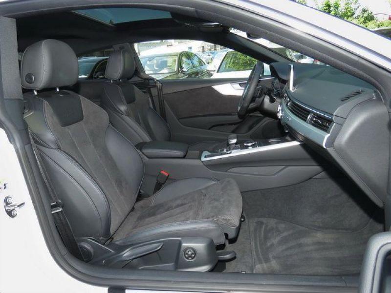 Audi A5 3.0 TDI Quattro 218cv S Line Blanc occasion à Beaupuy - photo n°2