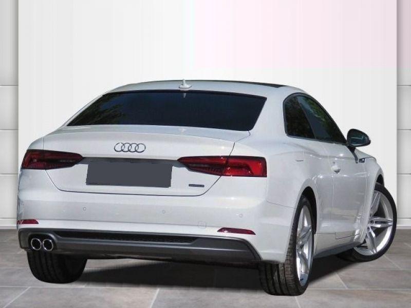 Audi A5 3.0 TDI Quattro 218cv S Line Blanc occasion à Beaupuy - photo n°3