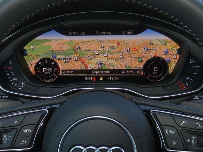 Audi A5 3.0 TDI Quattro 218cv S Line Blanc occasion à Beaupuy - photo n°6