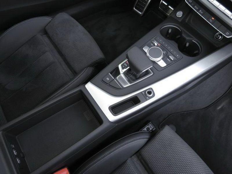 Audi A5 3.0 TDI Quattro 218cv S Line Blanc occasion à Beaupuy - photo n°9