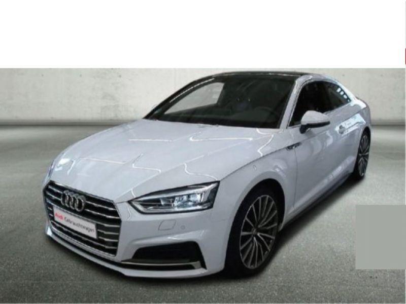 Audi A5 3.0 TDI Quattro 218cv S Line Blanc occasion à Beaupuy