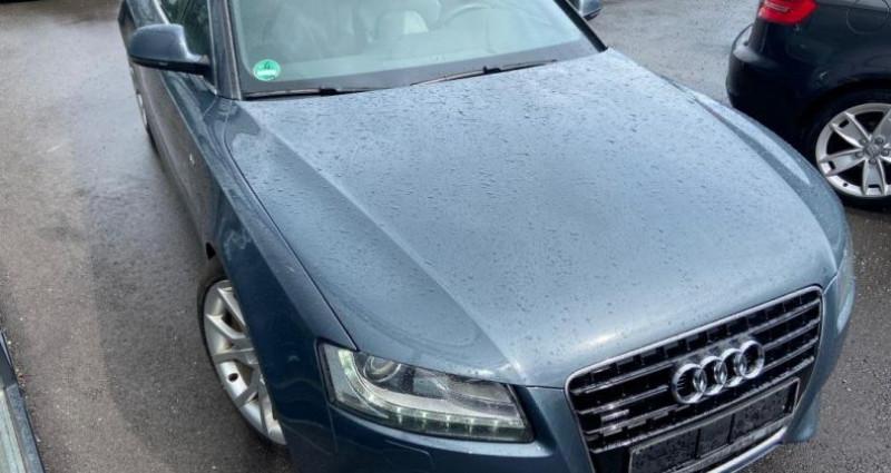 Audi A5 3.0 V6 TDI 240 DPF Quattro Ambiente Gris occasion à Bouxières Sous Froidmond - photo n°3