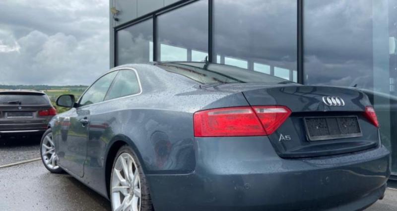 Audi A5 3.0 V6 TDI 240 DPF Quattro Ambiente Gris occasion à Bouxières Sous Froidmond - photo n°4