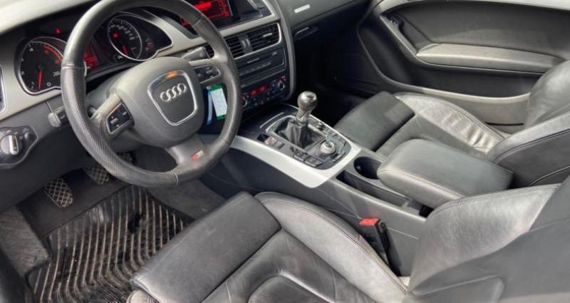 Audi A5 3.0 V6 TDI 240 DPF Quattro Ambiente Gris occasion à Bouxières Sous Froidmond - photo n°6
