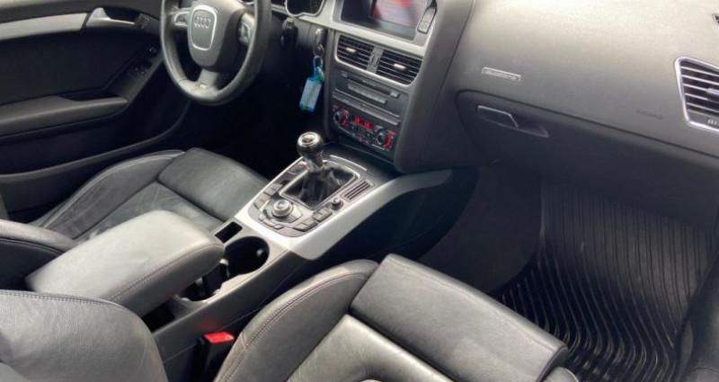 Audi A5 3.0 V6 TDI 240 DPF Quattro Ambiente Gris occasion à Bouxières Sous Froidmond - photo n°7
