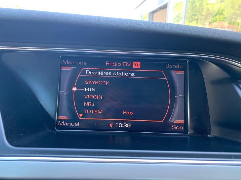 Audi A5 3.0 V6 TDI 240ch DPF Ambition Luxe quattro Gris occasion à Figeac - photo n°10