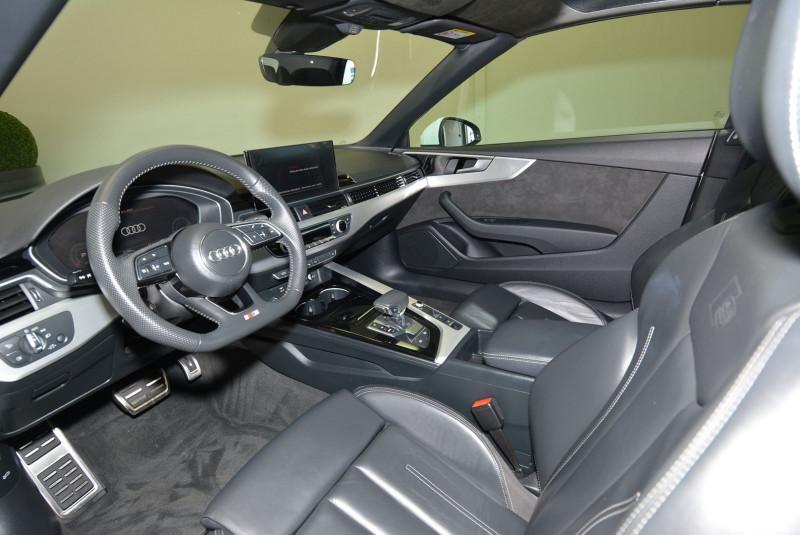 Audi A5 40 TDI 190CH S LINE S TRONIC 7 Blanc occasion à Quimper - photo n°5