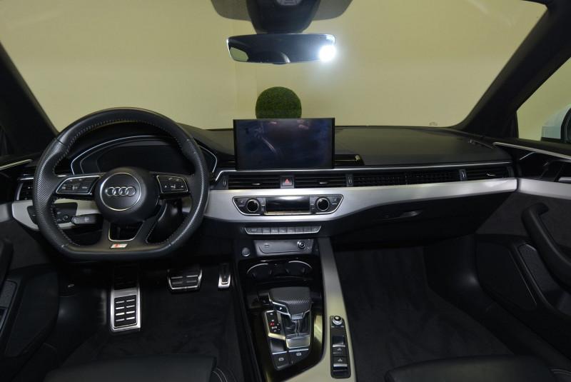 Audi A5 40 TDI 190CH S LINE S TRONIC 7 Blanc occasion à Quimper - photo n°7