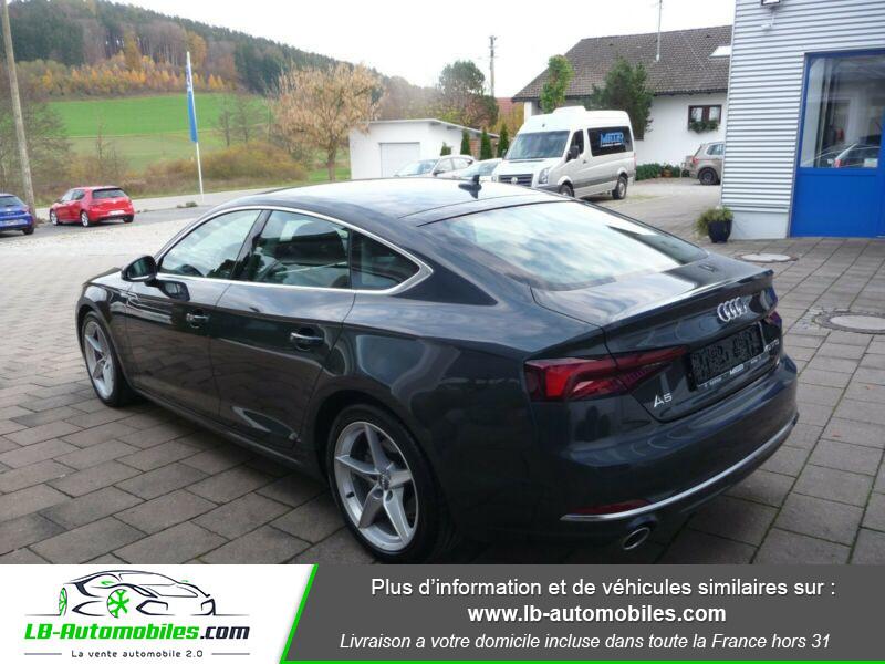 Audi A5 40 TFSI 190 S-tronic Gris occasion à Beaupuy - photo n°7