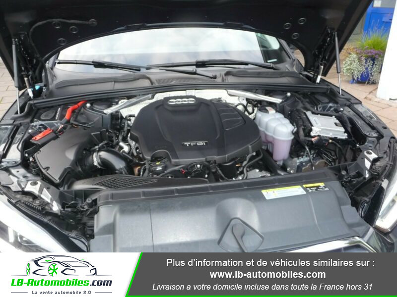 Audi A5 40 TFSI 190 S-tronic Gris occasion à Beaupuy - photo n°14
