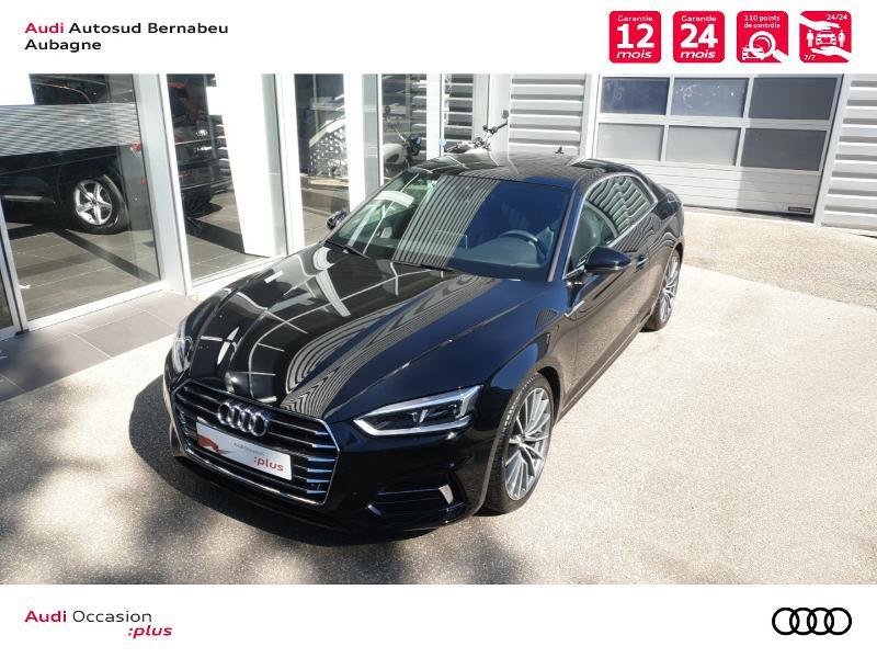 Audi A5 COUPE NF 2.0 TFSI 190 DESIGN LUXE STRONIC 7 Noir occasion à Aubagne - photo n°4
