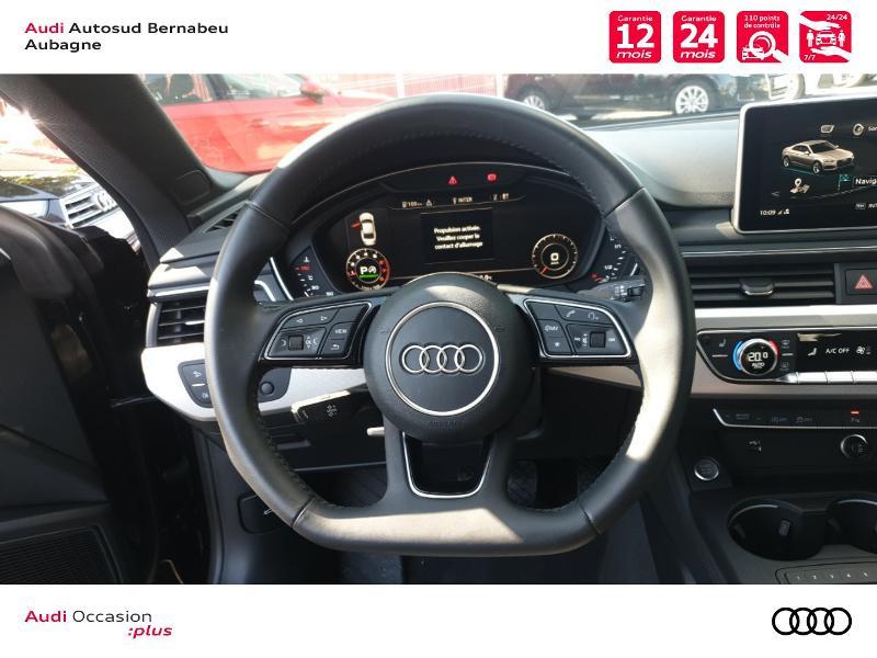 Audi A5 COUPE NF 2.0 TFSI 190 DESIGN LUXE STRONIC 7 Noir occasion à Aubagne - photo n°7