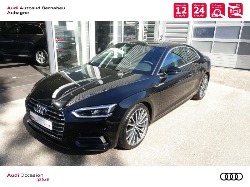 Audi A5 COUPE NF 2.0 TFSI 190 DESIGN LUXE STRONIC 7 Noir occasion à Aubagne